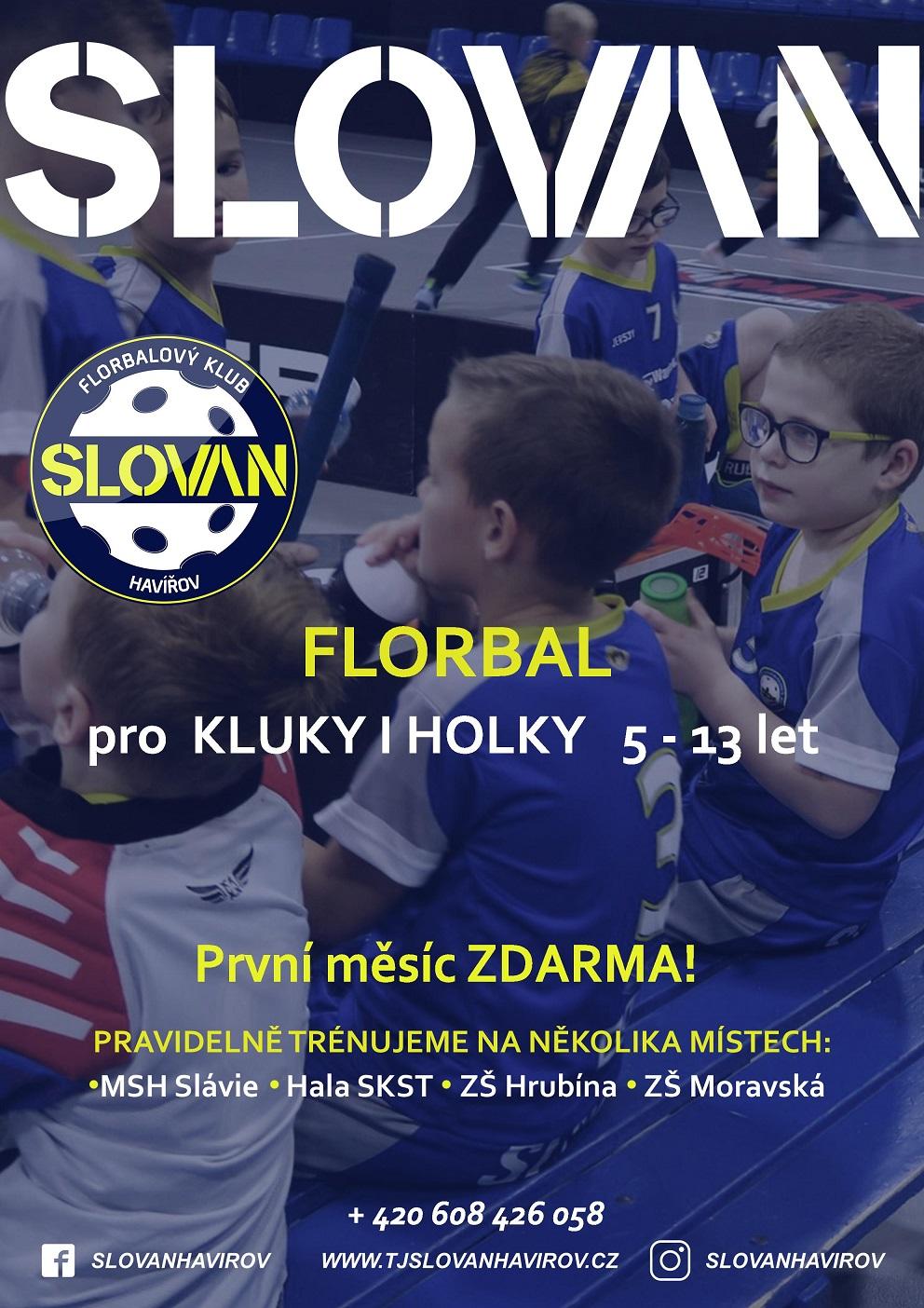 Slovan Florbal nábor